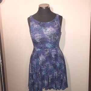 Cynthia Rowley Skater Skirt Cutout Back Dress